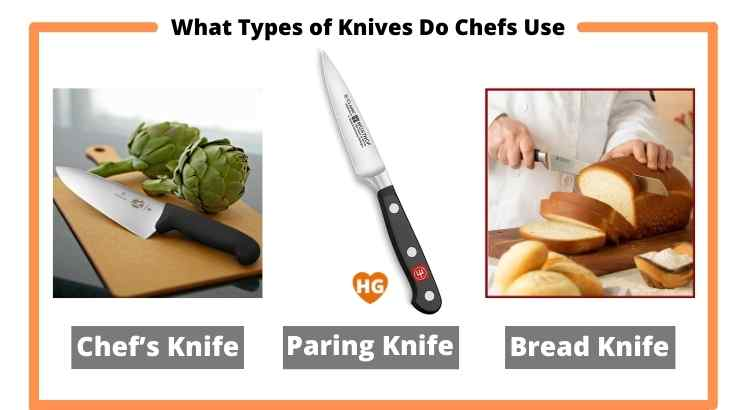 What Types of Knives Do Chefs Use